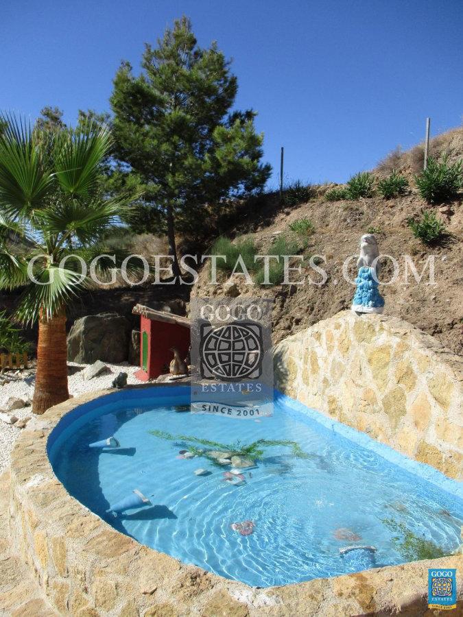 Rustiek landhuis nabij zee aan de Costa calida Spanje
