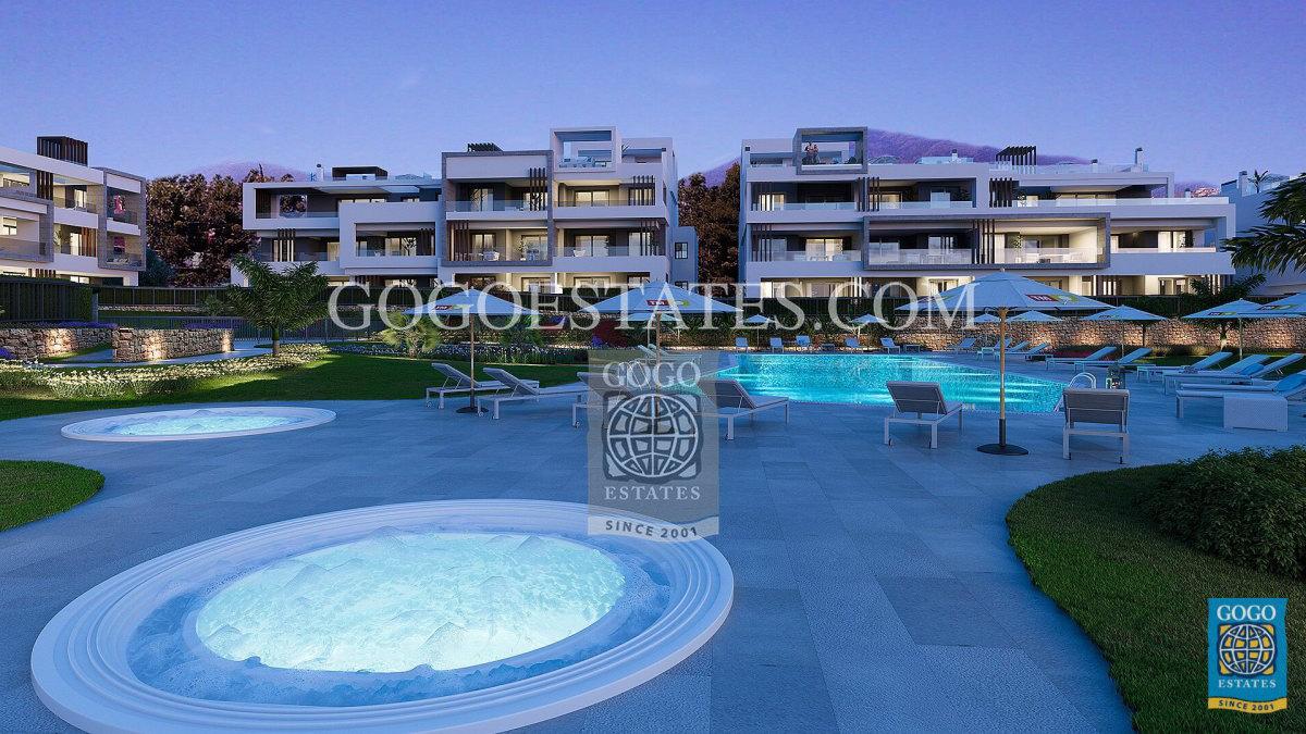 Appartementen met 2 en 3 slaapkamers Estepona & Cancelada.