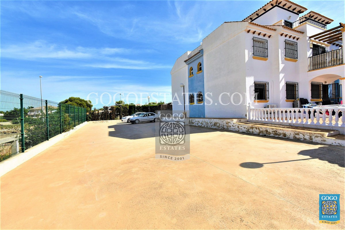 Penthouse woning met dakterras in Cabo Roig